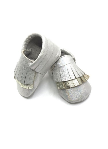 Moots Moots Parlak Gümüş DoubleXxl Ayakkabı Gümüş
